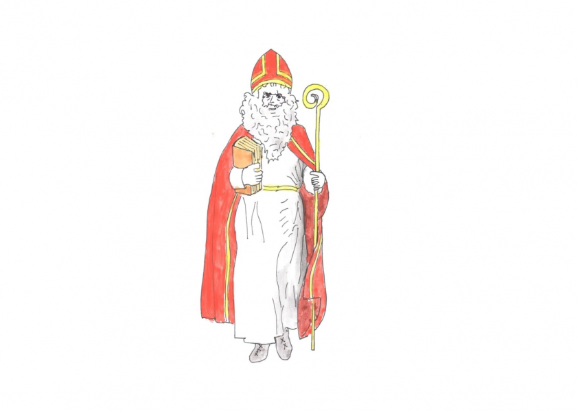 De Samichlaus chont is Dorf